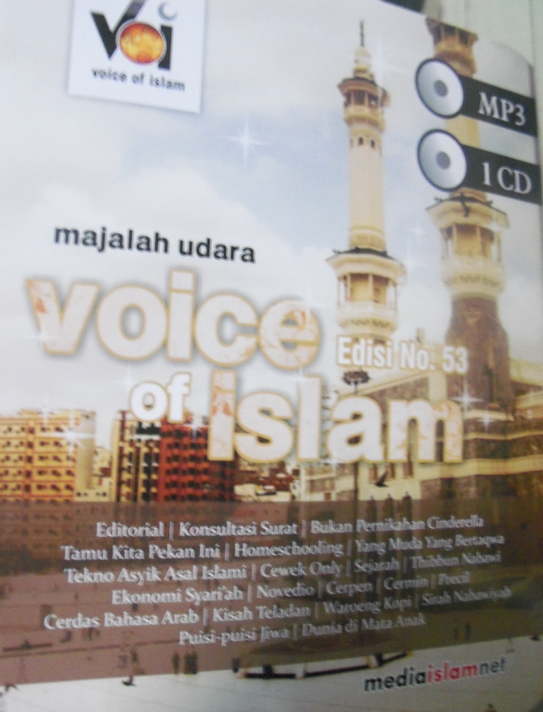 [file] Voice of Islam edisi 53 (1-10 November 2011)